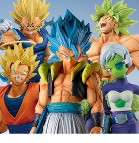 NEW BANPRESTO DRAGON BALL FIGURES