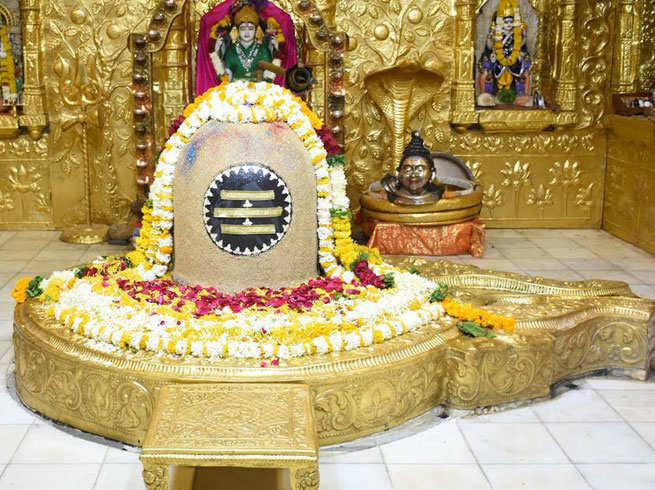Image result for rudrabhishek at mahashivratri in english