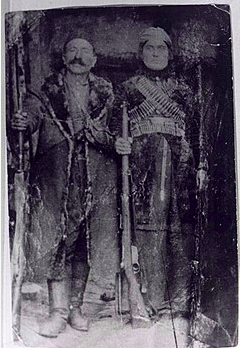 Zarife Hanim, son époux Alişer Efendi