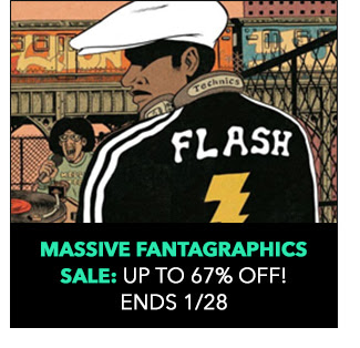 Massive Fantagraphics Sale: up to 67% off! Sale ends 1/28.