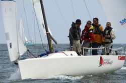 J/70 sailing Tour de Belle Ile