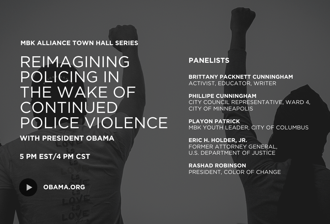 Reimagining Policing in the Wake of Continued Police Violence - Find out more!