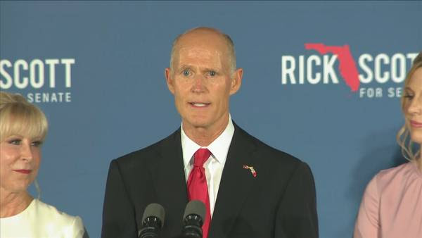 Image: BREAKING NEWS: Gov. Rick Scott to step down from elections board responsible for certifying results of Florida recount