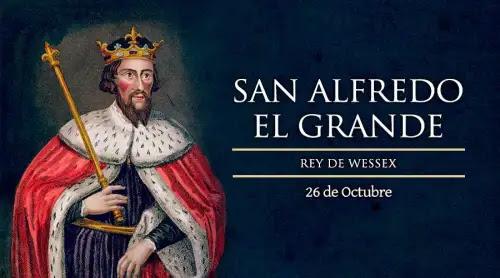 Hoy es fiesta de San Alfredo, rey que defendió a su pueblo de los vikingos