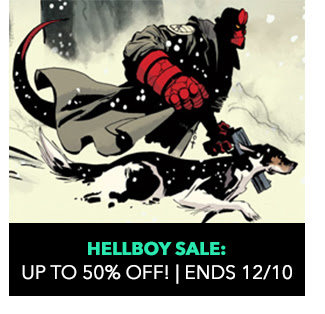 Hellboy Sale: up to 50% off! Sale ends 12/10.