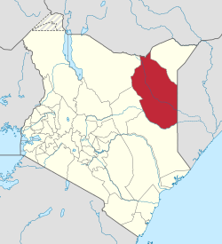 Wajir County, Kenya. (Wikipedia)