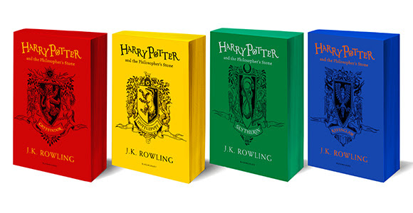 Harry Potter Hogwarts House Editions