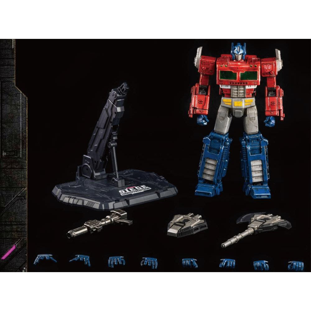 Image of Transformers War for Cybertron Trilogy Optimus Prime Deluxe Action Figure - MAY 2021
