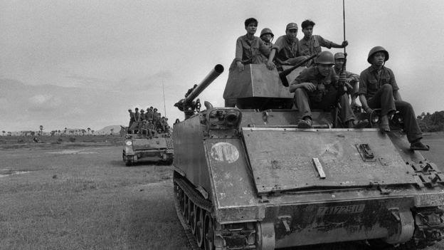 Xe tăng Việt Nam, ảnh chụp 1979