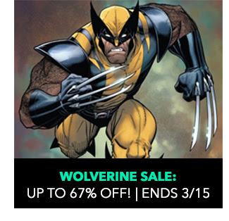 Wolverine Sale: up to 67% off! Sale ends 3/15.