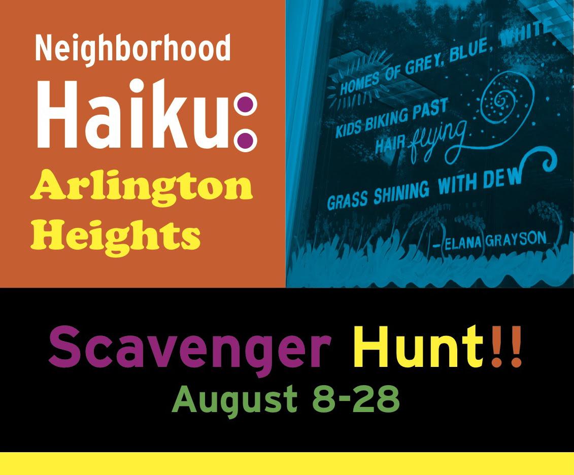 Haiku scavenger hunt