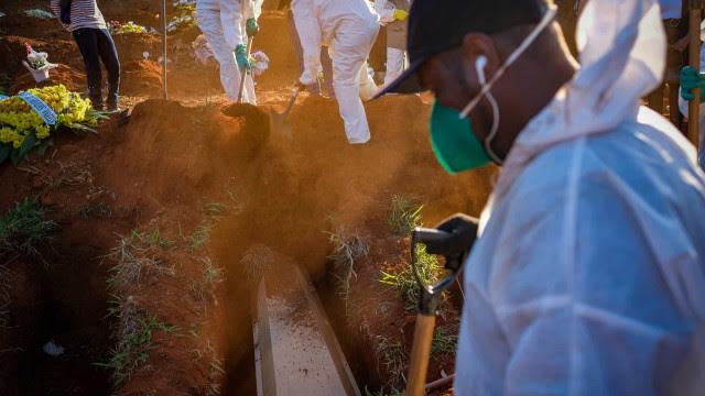 Brasil registra 2.198 mortes por covid em 24h; com 74,8 mil novos casos da doença