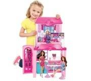 Boneca Barbie Real Mattel Casa com Boneca 2013 - Y4118