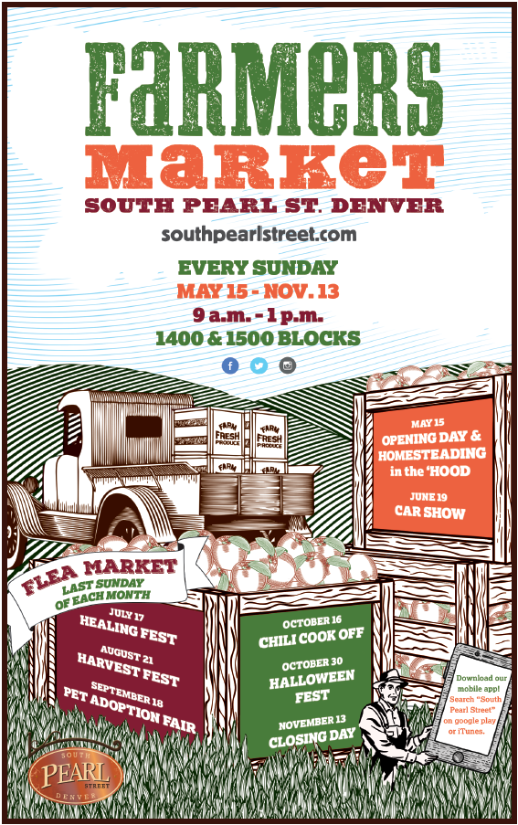 Soulshine will be at the South Pearl Street Denver, Farmers Market