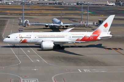 PH04324 | Phoenix 1:400 | Boeing 787-8 JAL JA837J Torch Relay | is due: June 2020