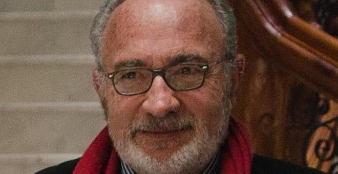 Josep Lluís Albiñana, presidente de la preautonomía valenciana y candidato por Compromis-Podemos para el Senado. Foto: Melderomer Col·lectiu Audiovisual.