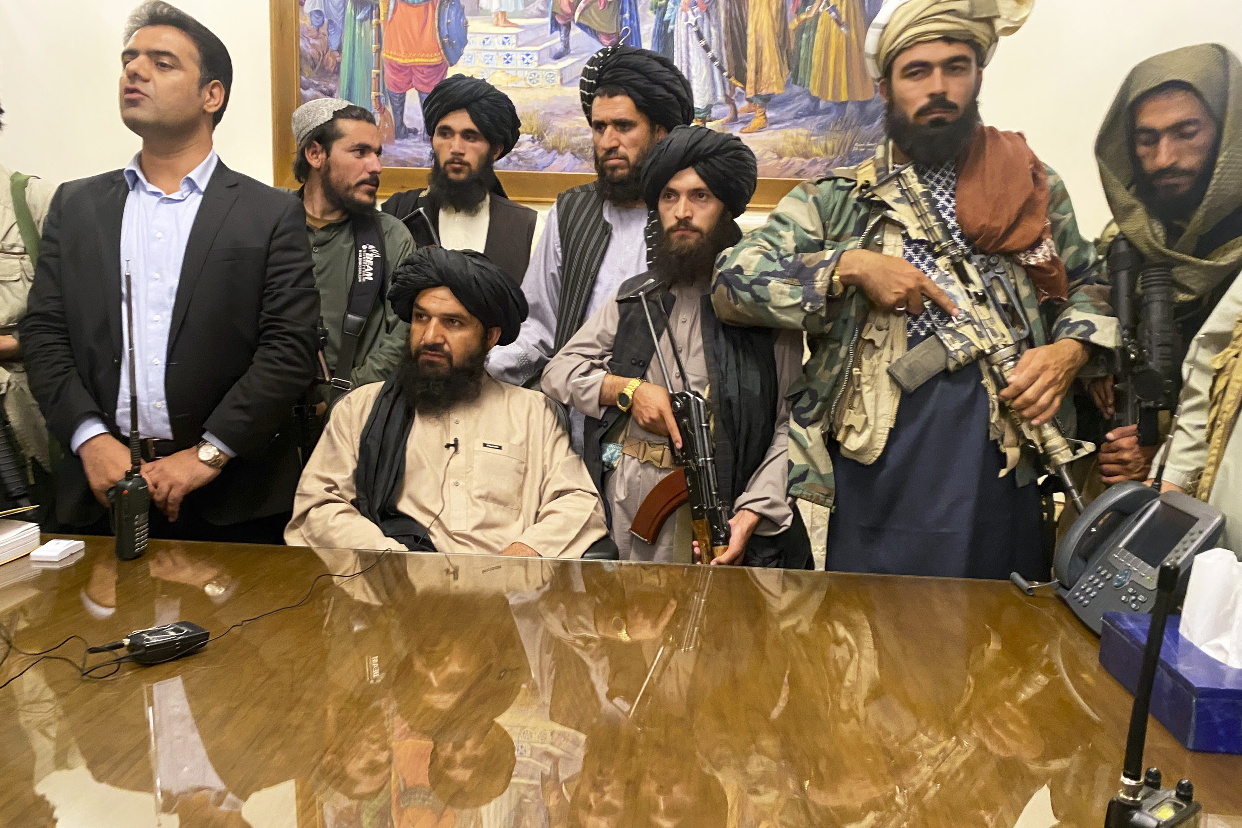 Why is Biden relying on the Taliban for the