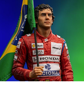 Ayrton Senna (1991) 1/10 Deluxe Art Scale Limited Edition Statue