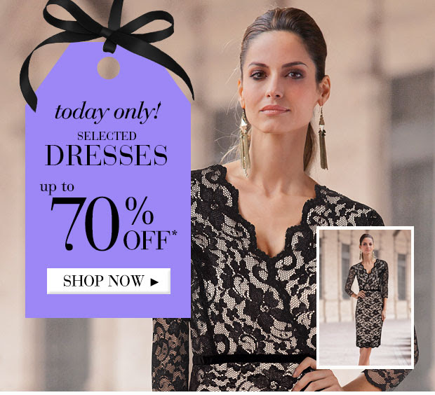 Save Up to 70% OFF On Selected Dresses  at Ezibuy.com.au