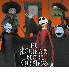 The Nightmare Before Christmas Select Series Wave 8