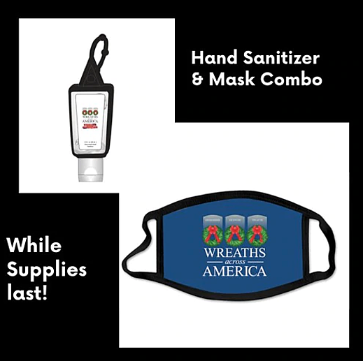 WAA Mask and Hand Sanitizer Combo