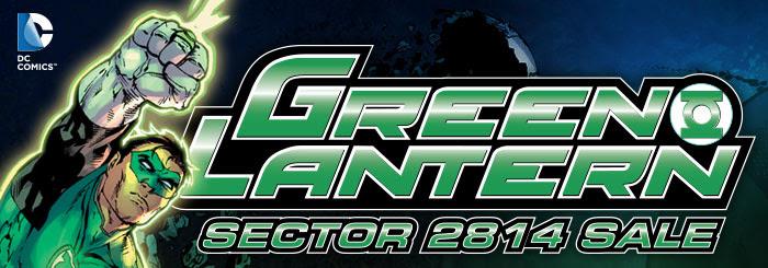 DC COMICS - GREEN LANTERN - SECTOR 2814 SALE