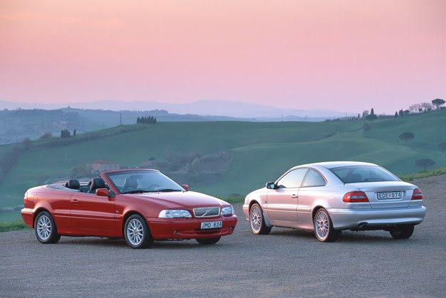 Volvo C70 Convertible and C70 Coupe