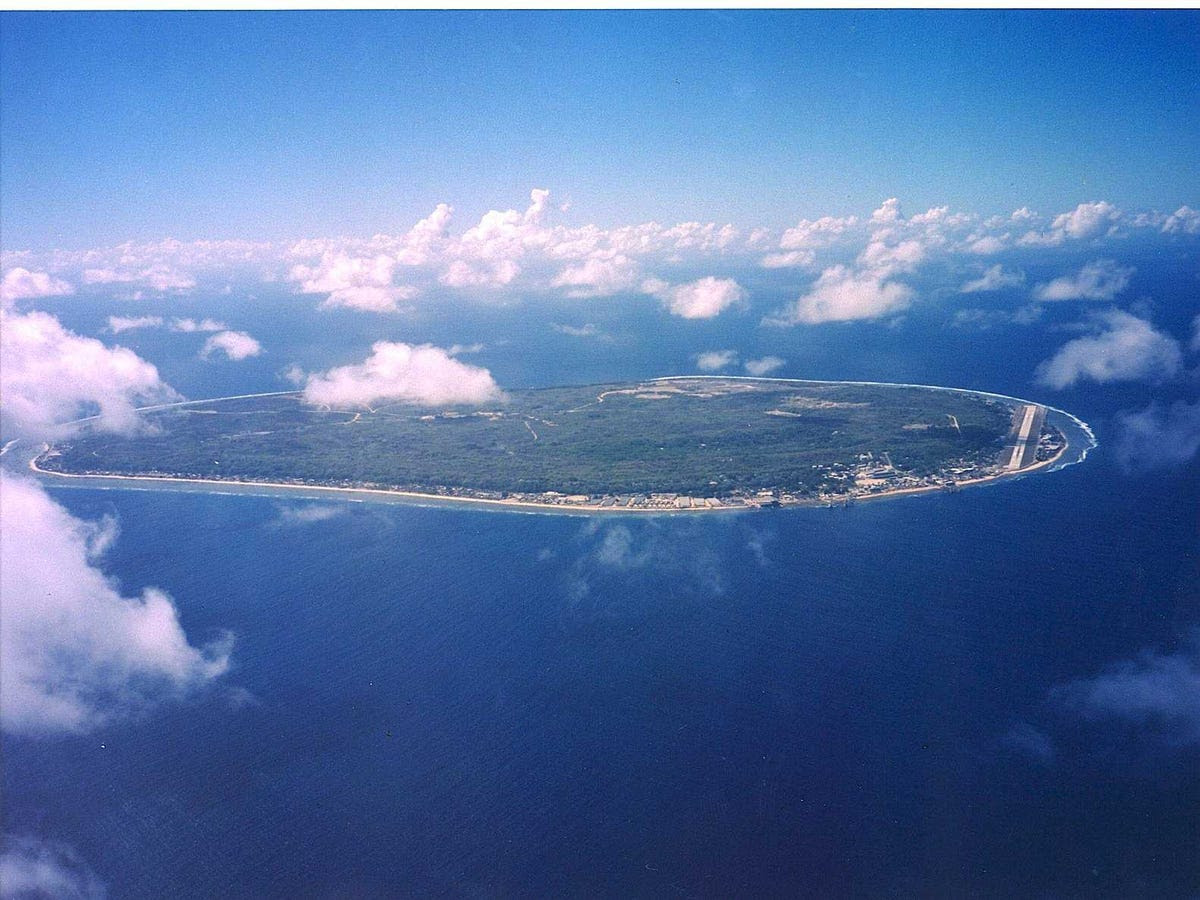 1. Nauru: 160 tourists