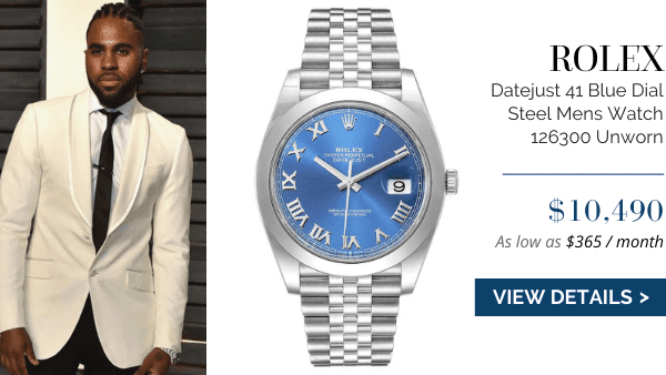Datejust Blue Dial