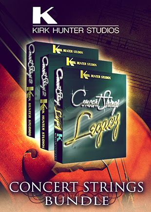 Concert Strings Bundle by Kirk Hunter Studios