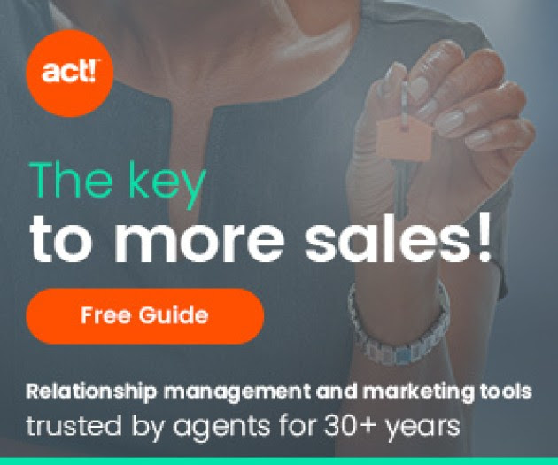 ADVERTISEMENT Act! manages customer relationships and automates marketing so you can focus on closing deals and selling homes. Find new home buyers fast with our free guide to lead generation.