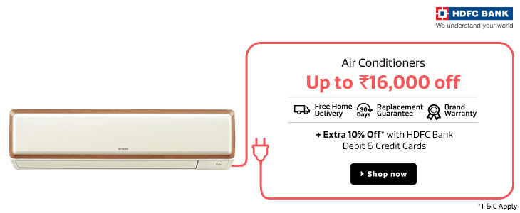 Air Conditioner | Upto Rs.16000 Off