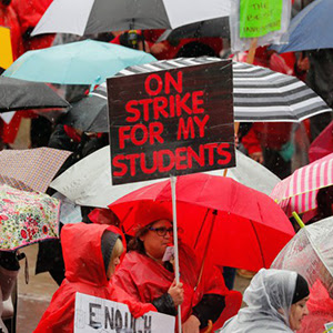Denver Educators Strike                                           for Fair Pay