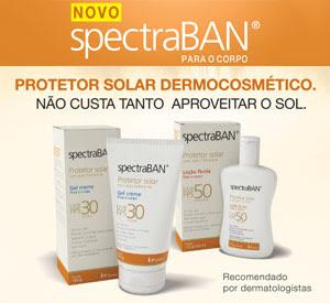 Novo SpectrabBAN para o corpo - Protetor solar dermocosmético