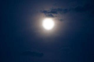 luna piena a Treia