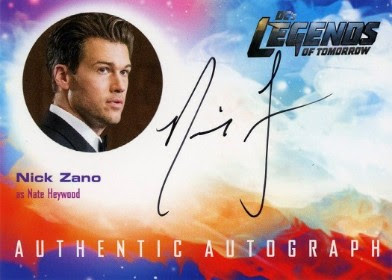 DC's Legends of Tomorrow Trading Cards Seasons 1 & 2 - Autograph Card - Zano