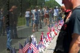 Đài tượng niệm chiến tranh Việt Nam.