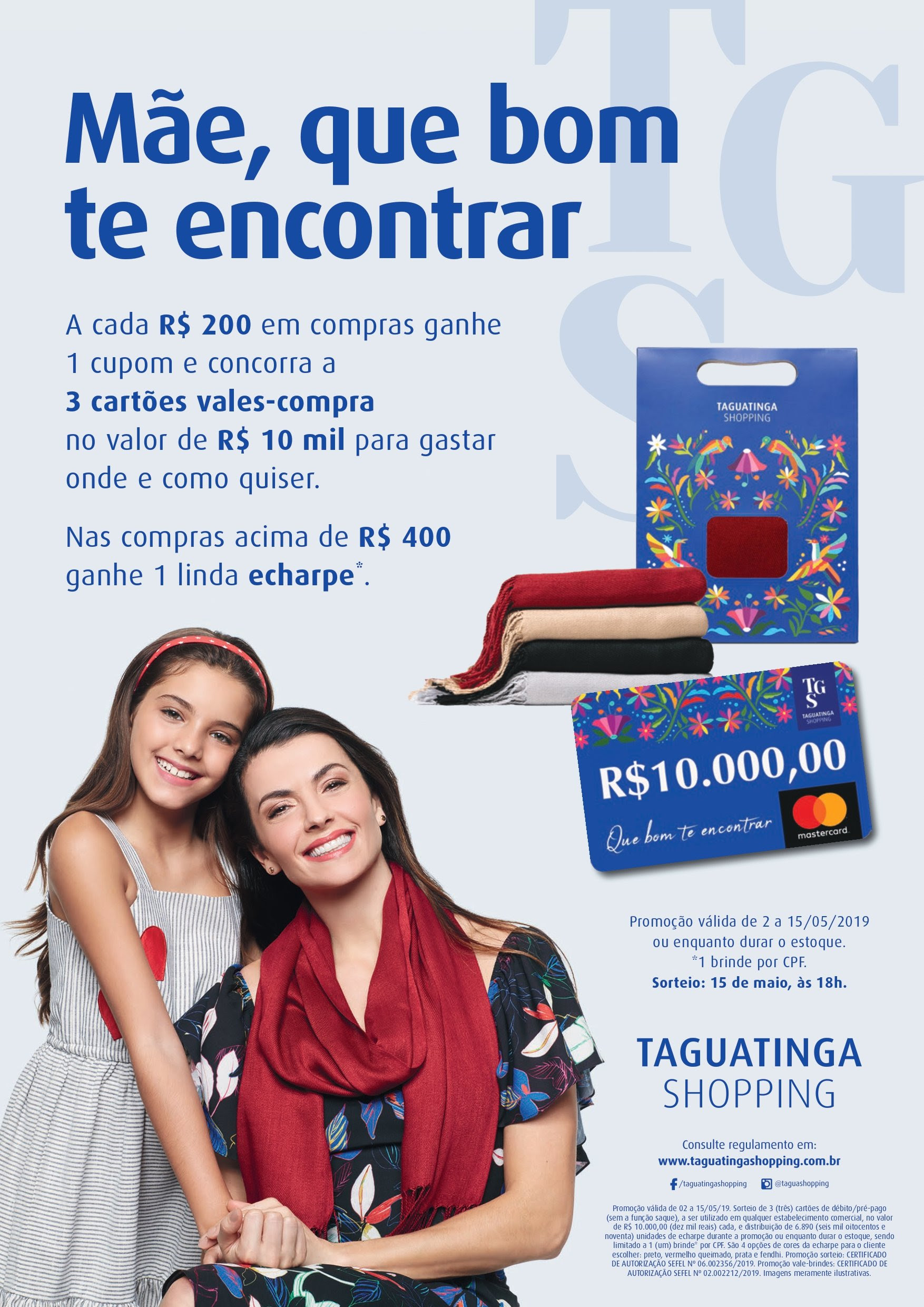 Dia das Mães do Taguatinga Shopping