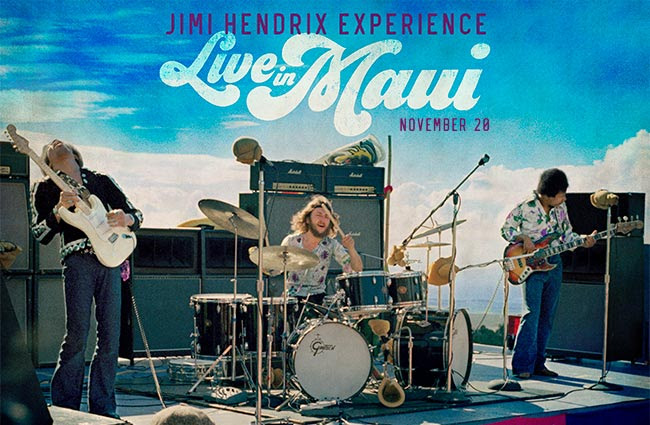Jimi Hendrix Header - Maui