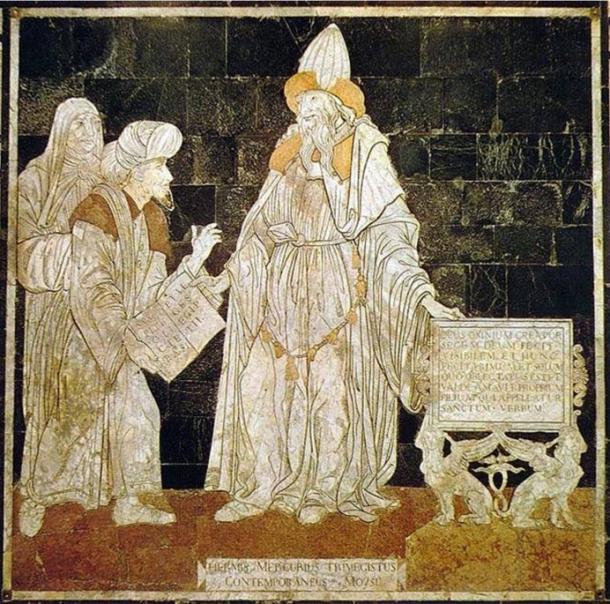 Hermes Trismegistus Thoth - Dios egipcio toth y su escuela de misterio