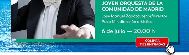 Joven orquesta de la Comunidad de Madrid. 6 julio 20:00