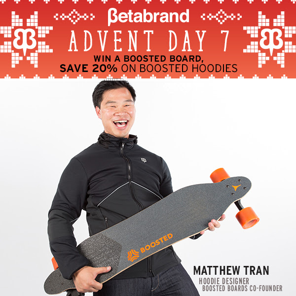 Win A Boosted Board & Save 20% On Boosted Hoodies