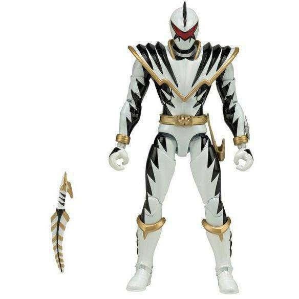 """Image of Power Rangers Dino Thunder Legacy 6"""" White Ranger"""