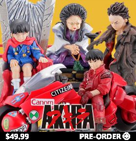 Akira miniQ Part 3 Akira Box of 6 Figures