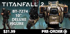 Titanfall 2 BT-7274 10 Inch Deluxe Figure