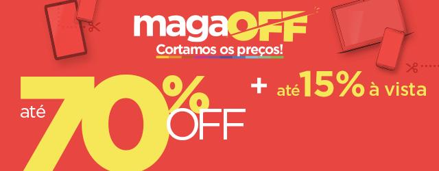Última chance de aproveitar preços incríveis do MAGAOFF! VEM!