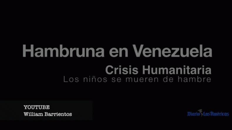 Resultado de imagen para video hambruna venezuela
