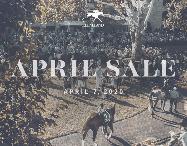Keeneland April Sale - April 7, 2020