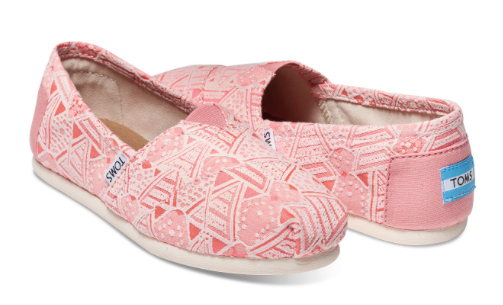 Up to 35% Off TOMS + Free Ship...