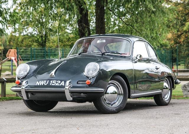 1963 Porsche 356B Coupé
